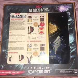 Other - D&D attack wing game